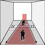 The racquetball screen serve illustrated racquetball Racquetball court diagram